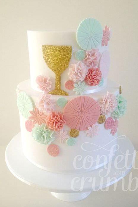 Favoloso Torte Prima Comunione: idee e foto bellissime EX71