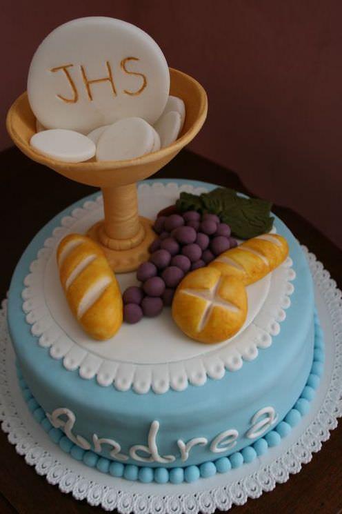 Idee per torte prima comunione sl42 regardsdefemmes for Decorazione torte prima comunione