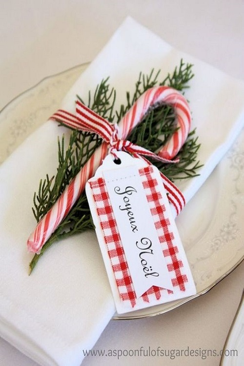 Segnaposto Matrimonio Tema Natalizio.Segnaposti Per Natale